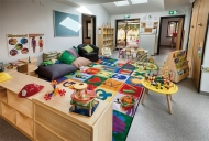 The purpose-built Young Parent Centre responds to the high pregnancy rates amongst teen girls