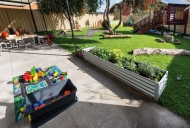 Port School Young Parent Centre outdoor play area