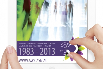 Download AWE's 30th anniversary commemorative publication for iPad